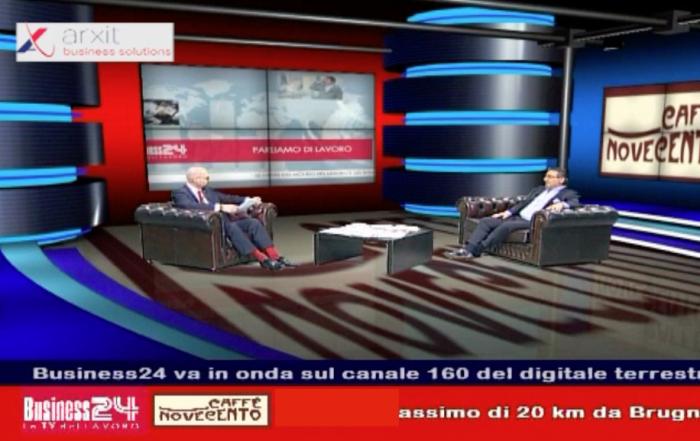 Moreno Tartaglini a Business 24 - Caffè Novecento